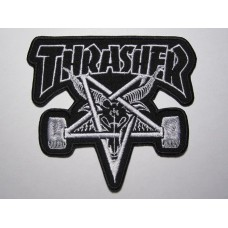 THRASHER patch embroidered