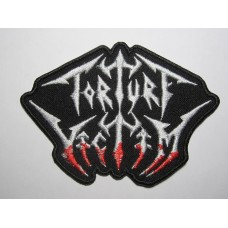 TORTURE VICTIM patch embroidered