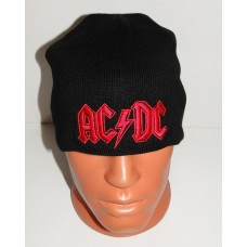 AC/DC beanie hat embroidered logo