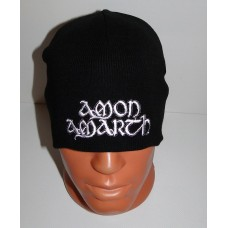 AMON AMARTH beanie hat embroidered logo