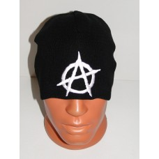ANARCHY beanie hat embroidered logo
