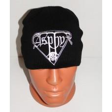 ASPHYX beanie hat embroidered logo