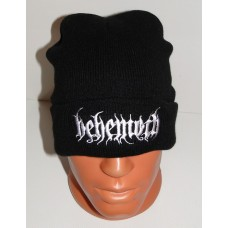 BEHEMOTH beanie hat cuffed embroidered logo