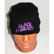 BLACK SABBATH beanie hat embroidered logo