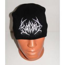 BLOODBATH beanie hat embroidered logo