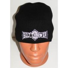 BOLT THROWER beanie hat embroidered logo