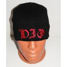 DIO beanie hat embroidered logo