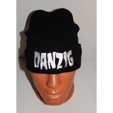 DANZIG beanie hat cuffed embroidered logo