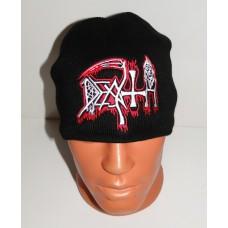 DEATH beanie hat embroidered logo