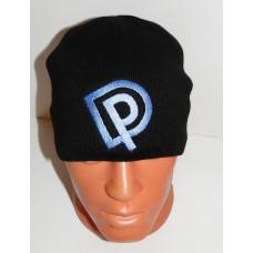 DEEP PURPLE beanie hat embroidered logo