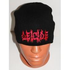 DEICIDE beanie hat embroidered logo