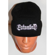 ENTOMBED beanie hat cuffed embroidered logo