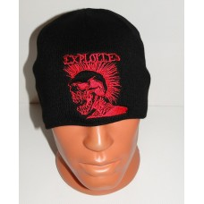 The EXPLOITED beanie hat embroidered logo