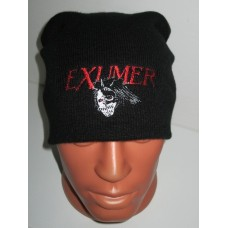EXUMER beanie hat embroidered logo