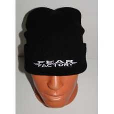 FEAR FACTORY beanie hat cuffed embroidered logo