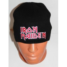 IRON MAIDEN beanie hat embroidered logo