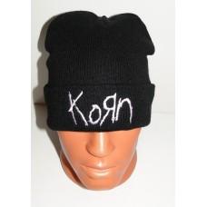KORN beanie hat cuffed embroidered logo