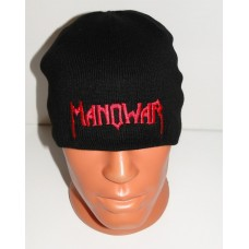 MANOWAR beanie hat embroidered logo