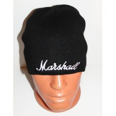MARSHALL beanie hat embroidered logo