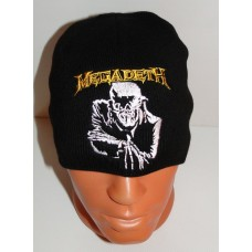 MEGADETH beanie hat Peace Sells embroidered logo