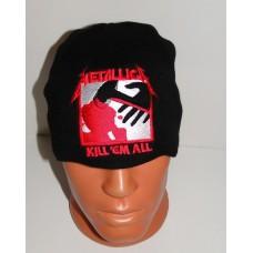 METALLICA beanie hat Kill Em All embroidered logo