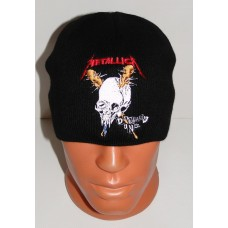 METALLICA beanie hat Damage Inc. embroidered logo
