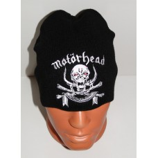 MOTORHEAD beanie hat March Or Die embroidered logo