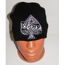 MOTORHEAD beanie hat embroidered logo Ace Of Spades