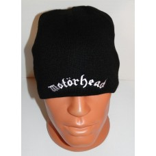 MOTORHEAD beanie hat embroidered logo