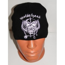 MOTORHEAD beanie hat embroidered logo