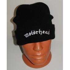 MOTORHEAD beanie hat cuffed embroidered logo