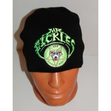 Mr. PICKLES beanie hat embroidered logo