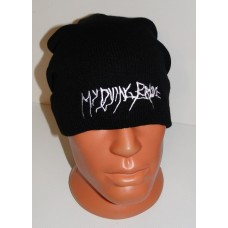 MY DYING BRIDE beanie hat embroidered logo