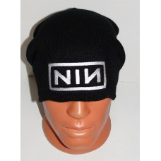 NINE INCH NAILS NIN beanie hat embroidered logo