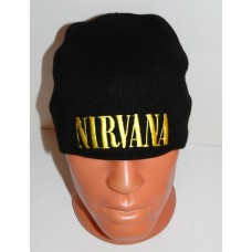 NIRVANA beanie hat embroidered logo