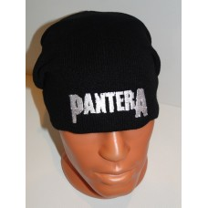 PANTERA beanie hat embroidered logo