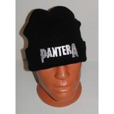 PANTERA beanie hat cuffed embroidered logo