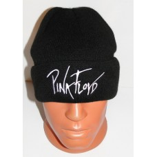 PINK FLOYD beanie cuffed hat embroidered logo