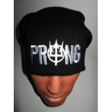 PRONG beanie hat embroidered logo
