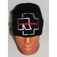 RAMMSTEIN beanie hat embroidered logo