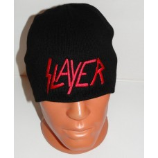 SLAYER beanie hat embroidered logo