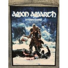 AMON AMARTH back patch printed Jomsviking