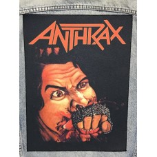 ANTHRAX back patch printed Fistful Of Metal