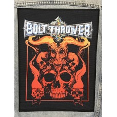 BOLT THROWER back patch printed