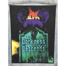 DARK ANGEL back patch printed Darkness Descends