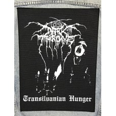 DARKTHRONE back patch printed Transilvanian Hunger