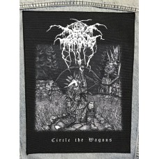 DARKTHRONE back patch printed Circle the Wagons