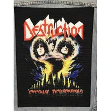 DESTRUCTION back patch printed Eternal Devastation