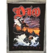 DIO back patch printed Holy Diver