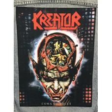 KREATOR back patch printed Coma Of Souls